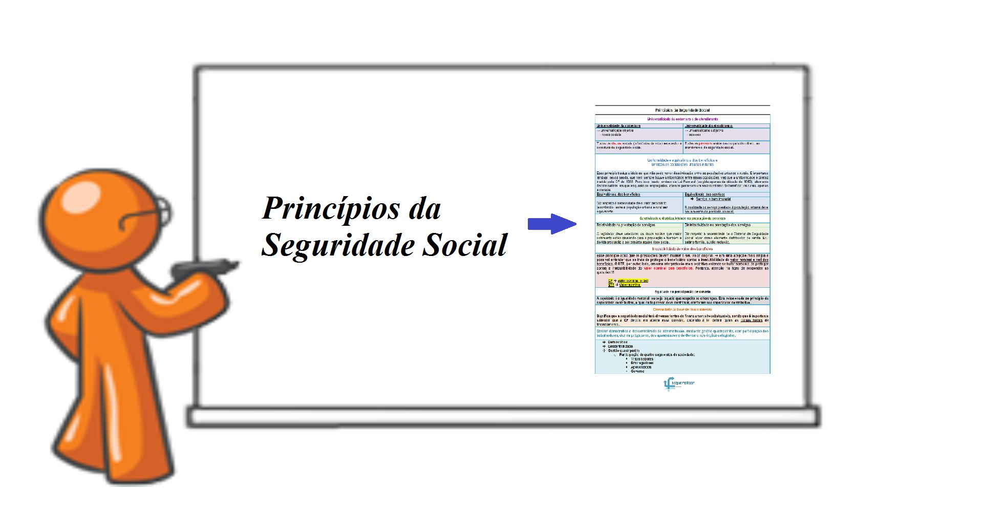 Princípios da Seguridade Social