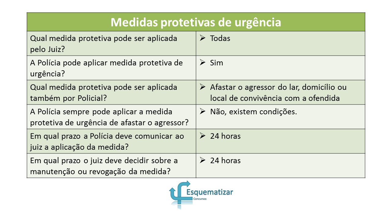 Lei Maria da Penha: Quem pode aplicar as medidas protetivas de urgência?